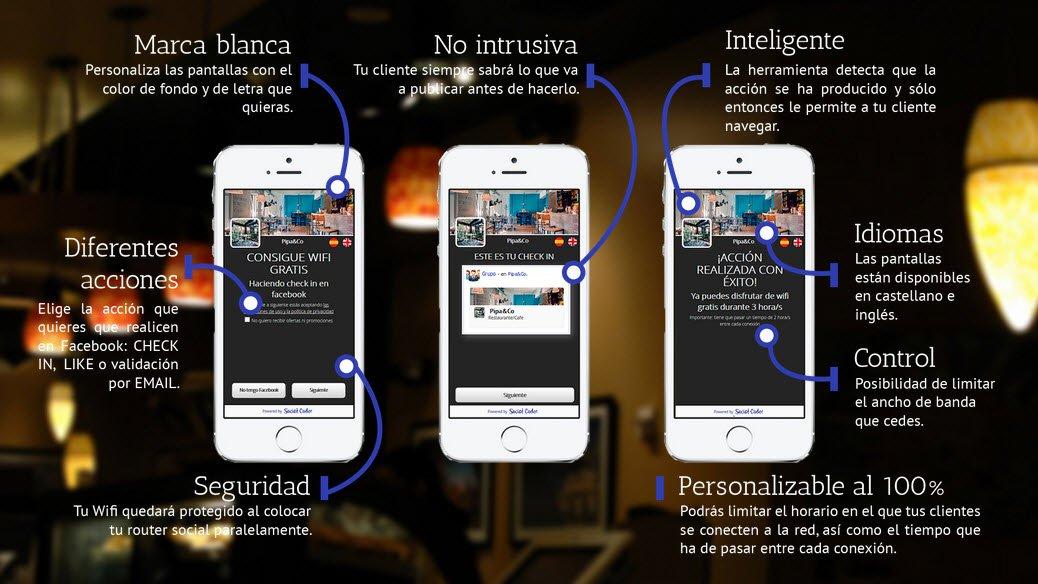 Ofrece un plus de calidad a tu negocio con Social Codes – Wifi Social