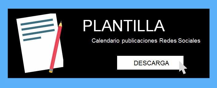 Plantilla para calendario de publicaciones en Redes Sociales [Descargable y editable]