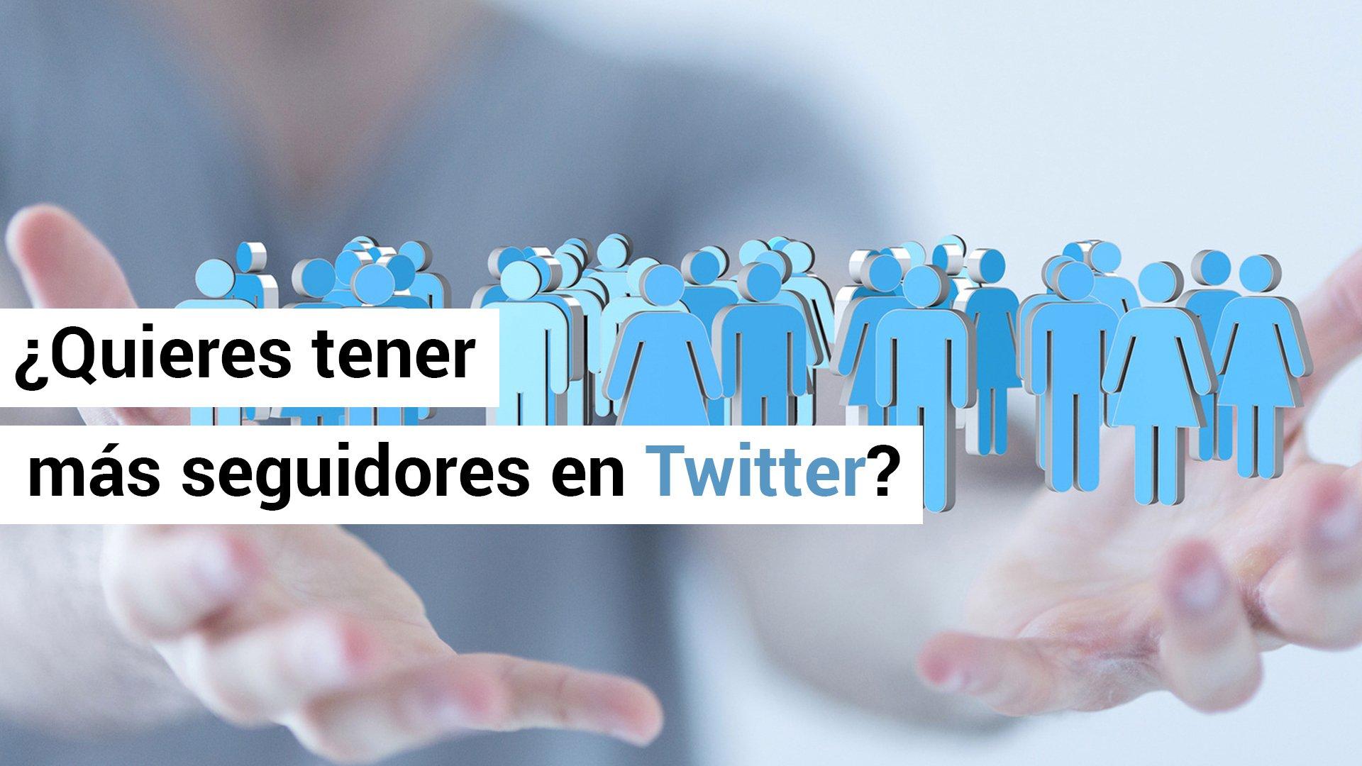 Consejos para captar seguidores en Twitter