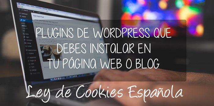 2 plugins WordPress para tener al día tu web con la Ley de Cookies