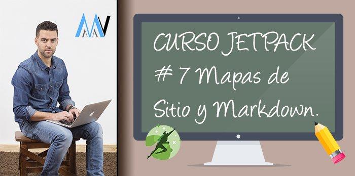 Curso Jetpack: #7 Mapas de Sitio y Markdown
