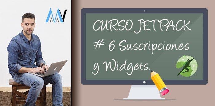 Curso Jetpack: #6 Suscripciones, Visibilidad de Widget y Widgets Laterales Extra