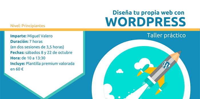 Curso Presencial: Crea tu Web Corporativa con WordPress