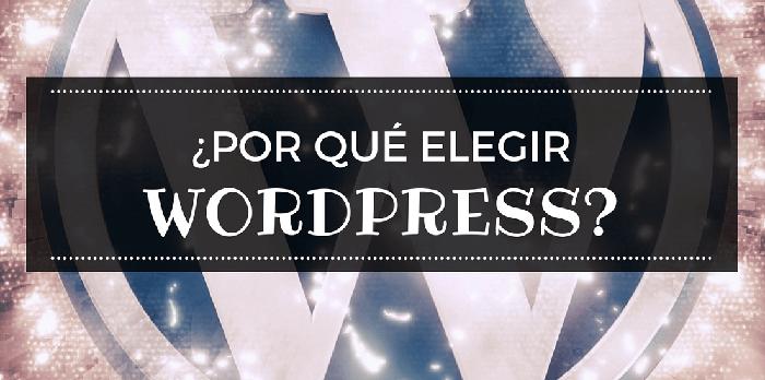 20 razones para usar WordPress al crear tu Página Web