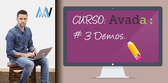 Curso AVADA WordPress: #3 Demos