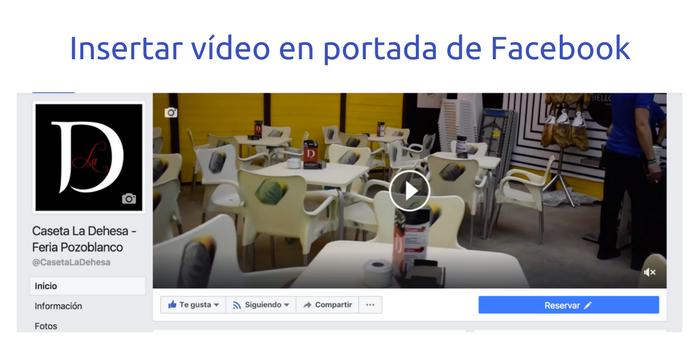 Ya puedes utilizar un vídeo como portada de tu página de Facebook