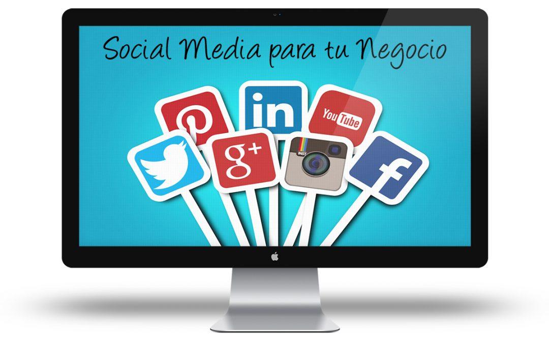 Curso de Social Media para tu Negocio