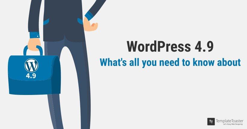 Novedades wordpress 4.9