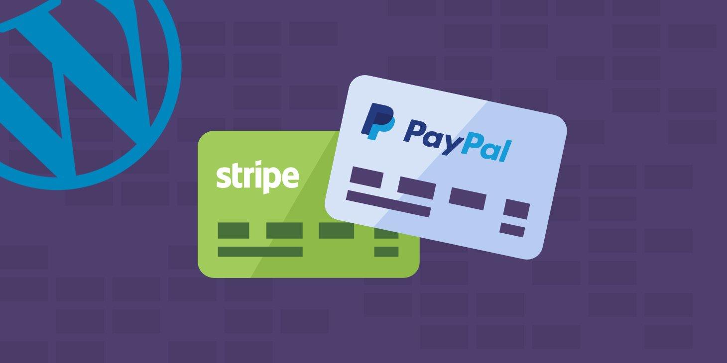 Pasarelas de Pago Wordpress - Stripe y PayPal