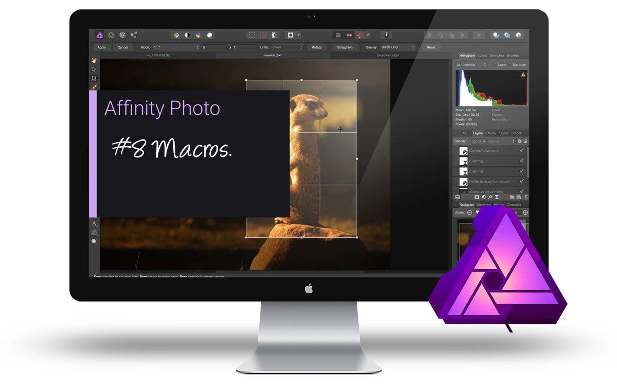 Curso Affinity Photo - Macros