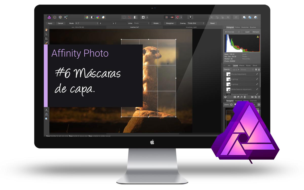 Curso Affinity Photo - Máscaras de capa