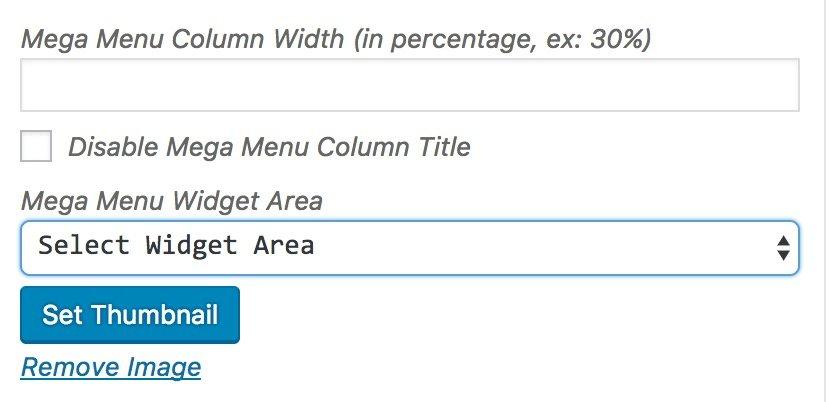 Como crear un mega menu en Avada WordPress 3