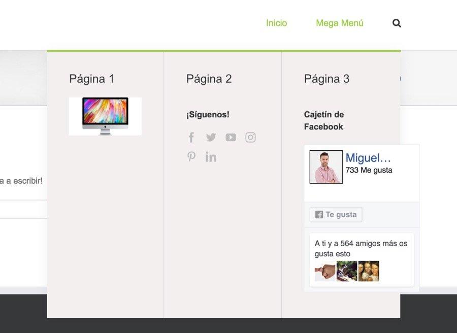 Como crear un mega menu en Avada WordPress 5