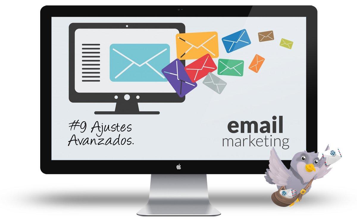 Curso email marketing WordPress - Ajustes Avanzados
