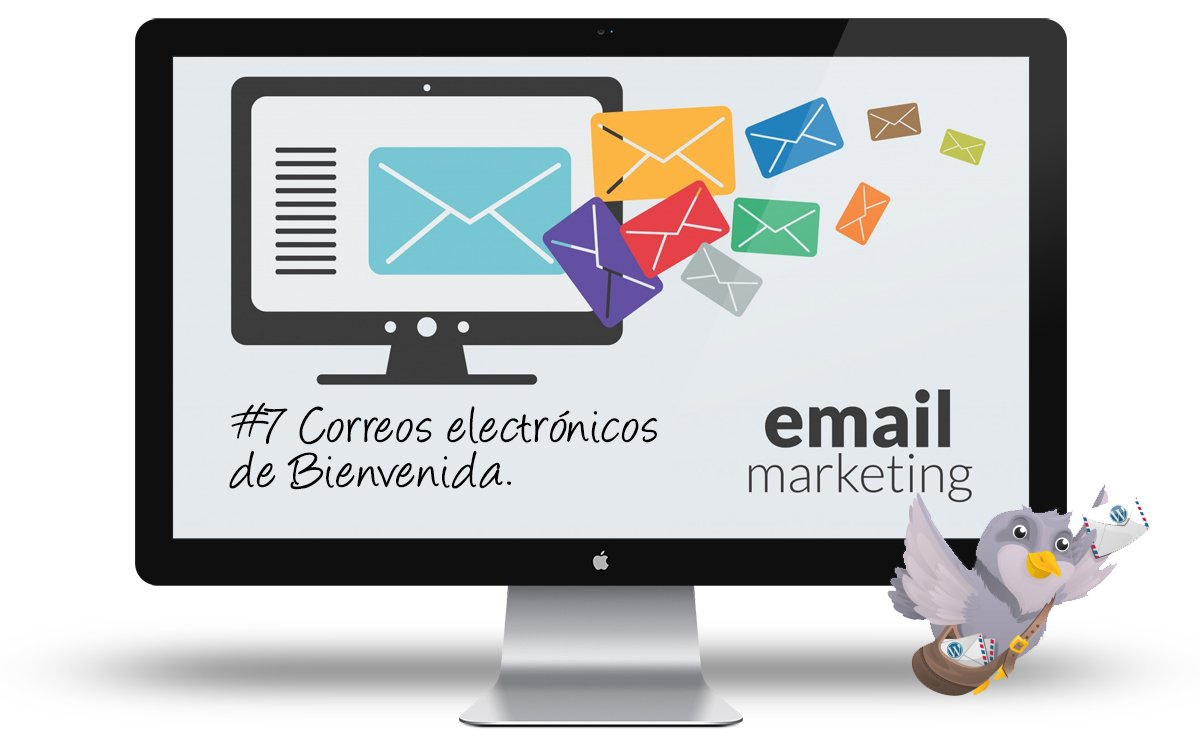 Curso email marketing con WordPress - 7 Correos de bienvenida