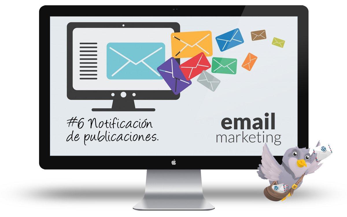 Curso email marketing con WordPress - Notificacion de publicaciones