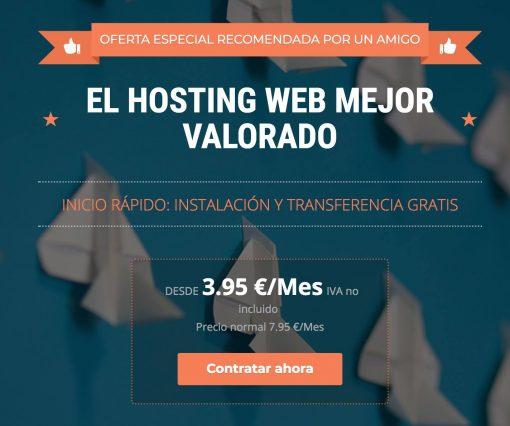 El mejor hosting - SiteGround - Descuento en hosting