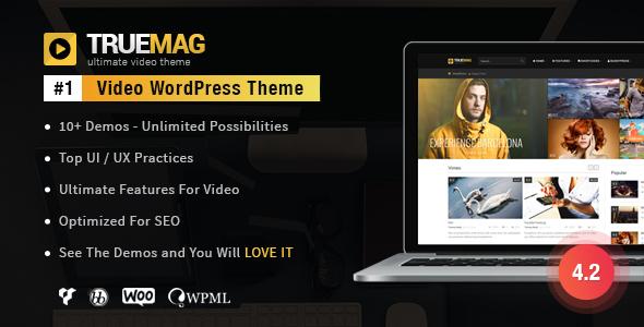 Truemag premium theme wordpress free gratis full