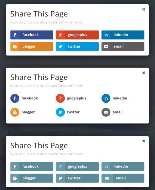 Ejemplos de Pop Up en Monarch para WordPress