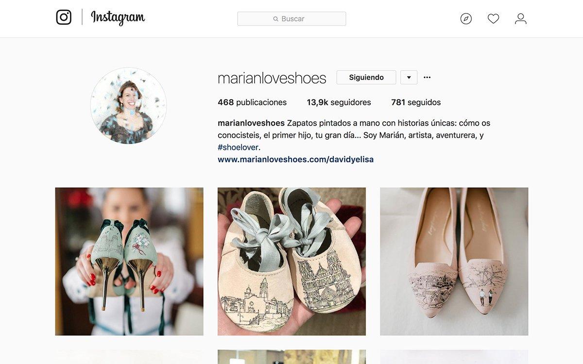 Instagram marianloveshoes - Un ejemplo de buen hacer - Marketing Online