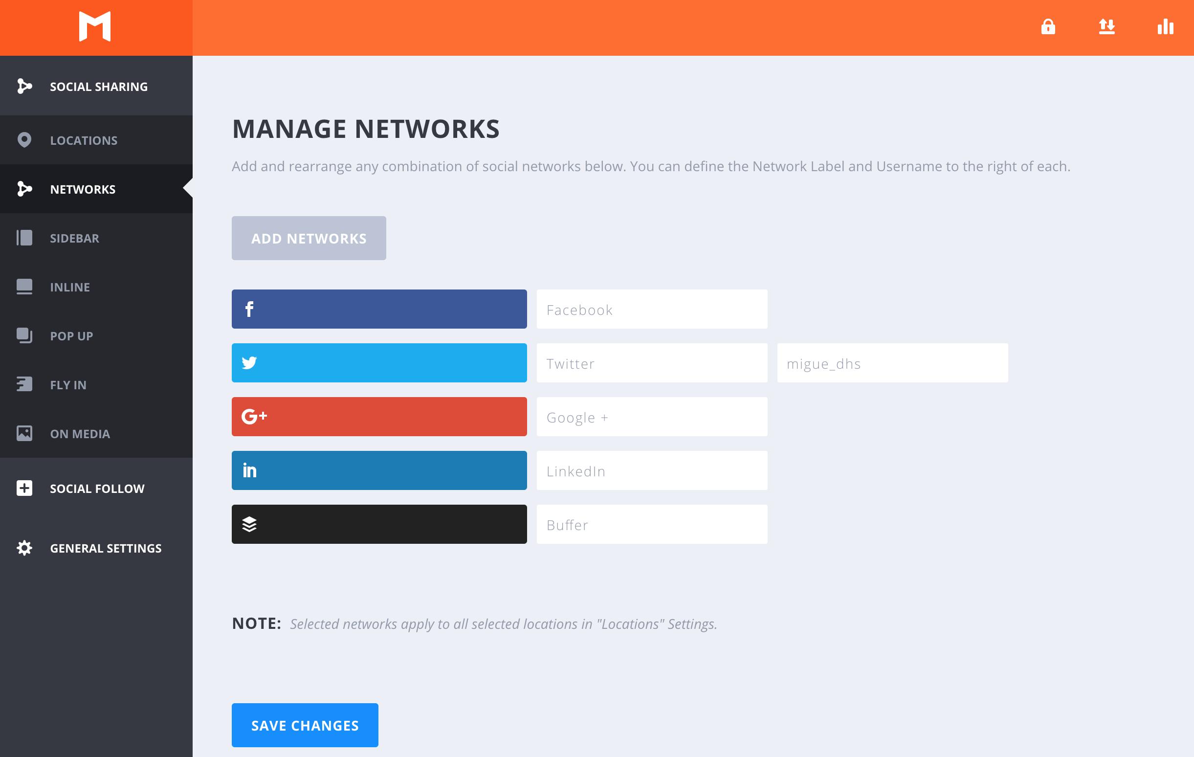 Plataformas sociales para compartir en redes sociales - Monarch WordPress