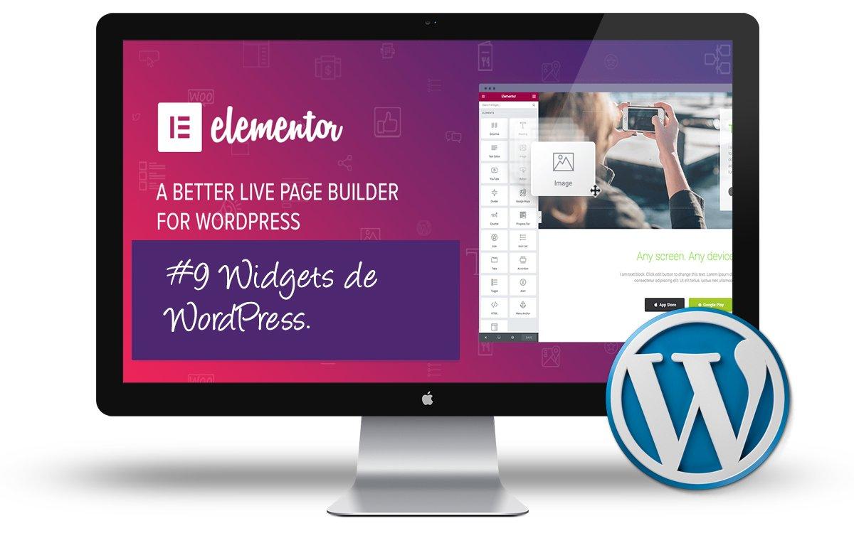 Curso Elementor - Widgets de WordPress