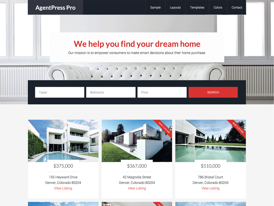 AgentPress Pro Theme Genesis Child Theme