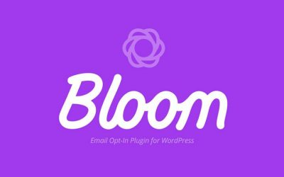 Bloom Email Opt-In Plugin Elegant Themes