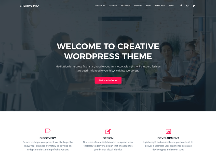 Business Pro Theme - Genesis Child Theme