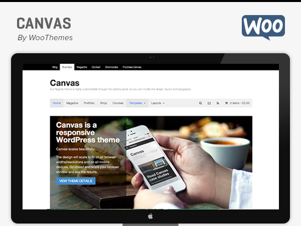Canvas Theme 5.12.0 – WooThemes