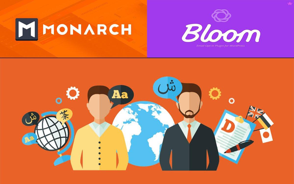 Cómo traducir los plugins Monarch y Bloom al español