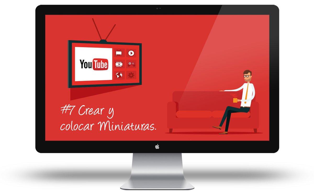 Curso Youtube - Crear y colocar miniaturas