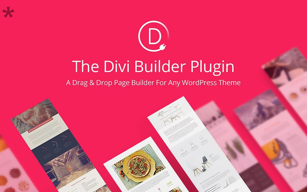 Divi Builder Plugin 2.9 de Elegant Themes