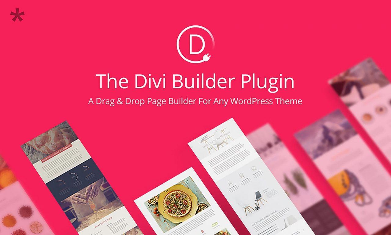 Divi builder Elegant Themes