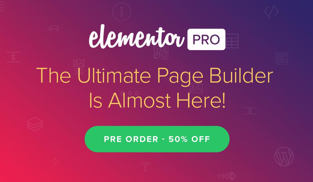 Elementor Pro 2.0.2