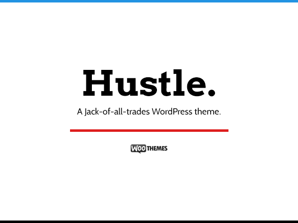 Hustle Theme - WooThemes