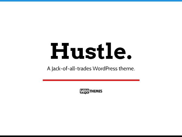 Hustle Theme - WooThemes