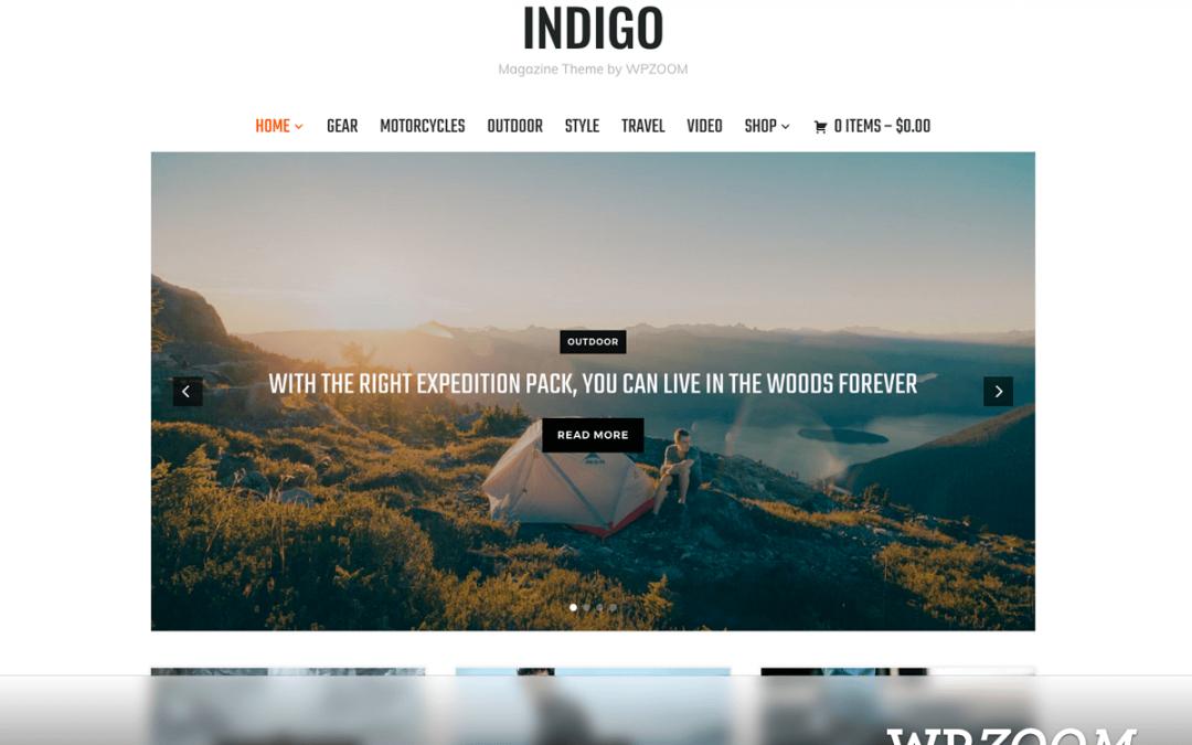 Indigo WordPress Theme 1.0.2 – WPZOOM
