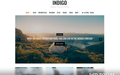 Indigo WordPress Theme WPZOOM