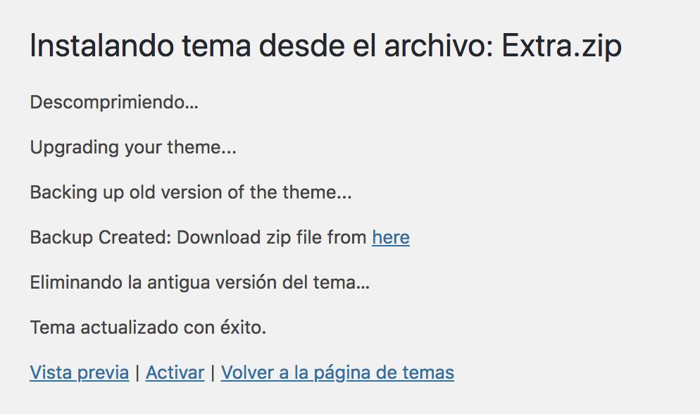 Instalar theme premium sin licencia automaticamente sin FTP