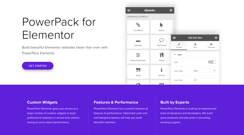 PowerPack Elements – Custom addons for elementor