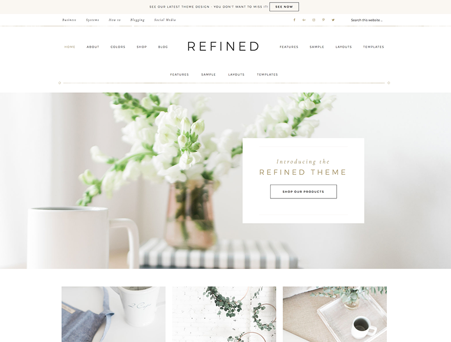 Refined Pro Theme 1.0.1 – Genesis Child Theme