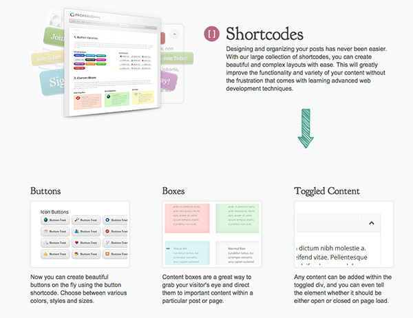 Shortcodes Plugin de Elegant Themes