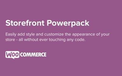 Storefront Powerpack Plugin