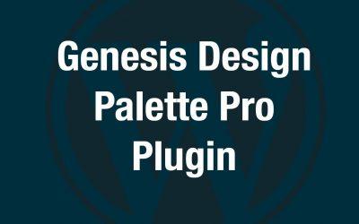 Studiopress Design Palette Pro