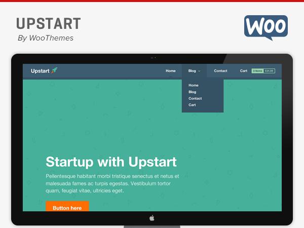 Upstart Theme - WooThemes