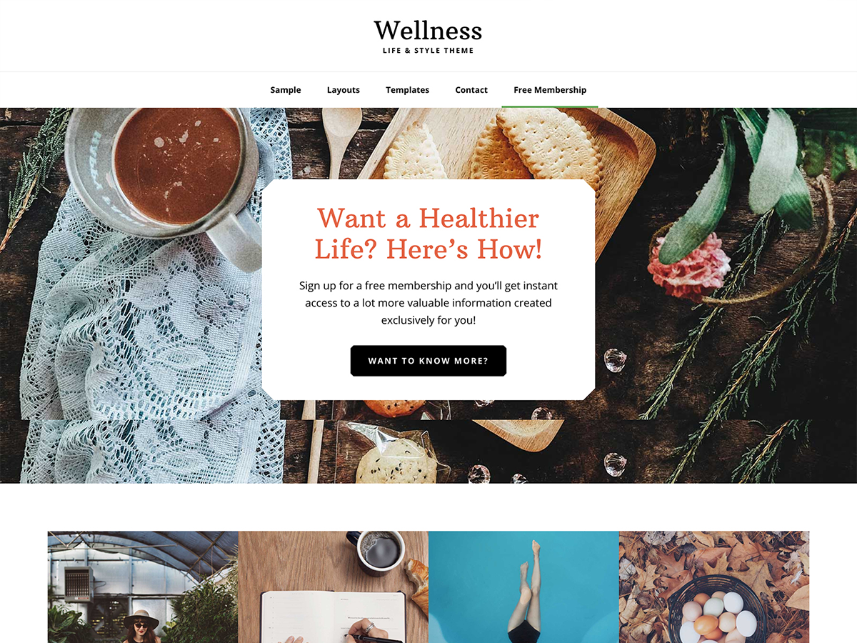 Wellness Pro Theme Genesis Child Theme