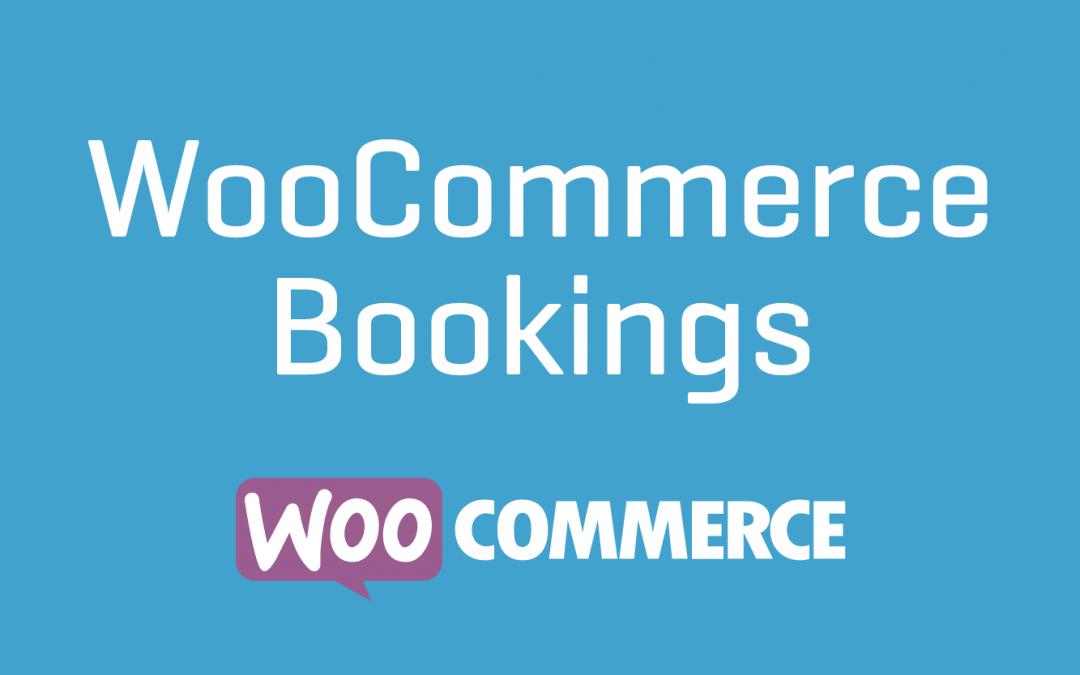 WooCommerce Bookings Plugin 1.11.0