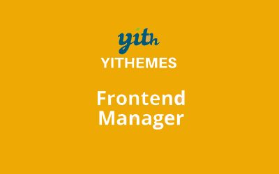 YITH Frontend Manager WooCommerce Premium