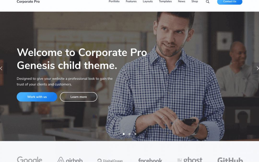 Corporate Pro Theme 1.0.0 – Genesis Child Theme